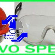عینک مخصوص کلاه کار در ارتفاعEvo-Lite