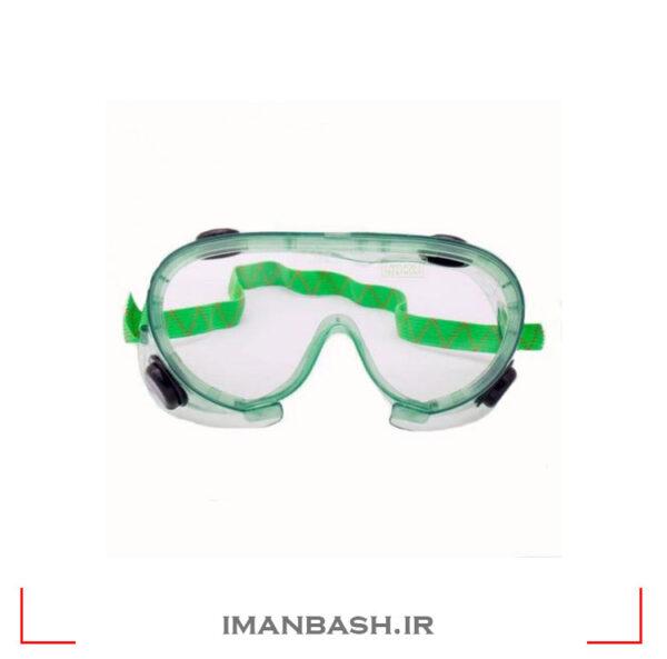 عینک طلقی کشدار، ضدبخارات شیمیائی مدل SE1116 با لنز ساده