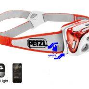 چراغ پیشانی +Petzl REACTIK (به زودی)