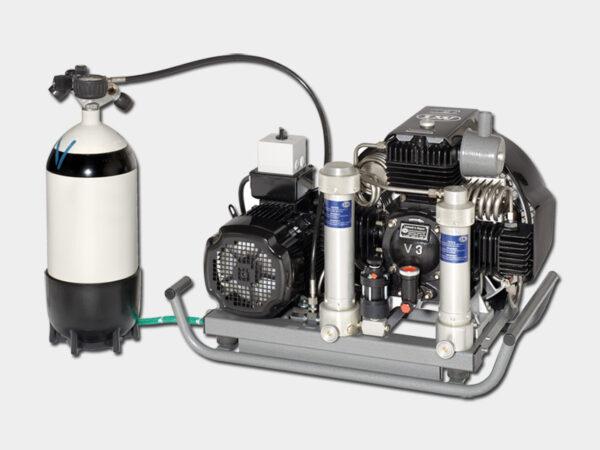 کمپرسور هوای تنفسی دو خروجی LW 225E