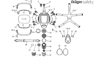 قطعات-یدکی-ماسک-Drager-Panorama