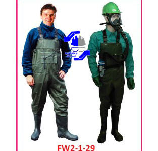 لباس نيم تنه مقاوم شيميايي مدل FW2-1-29