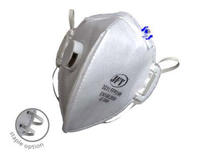 ماسك سوپاپ دار سفيد FFP3 مدل JFY 3231