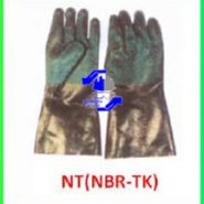 دستکش آستر دار نیتریلی مدل(NT(NBR-TK