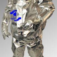 لباس آلومینیومی ورود و عبور از آتش