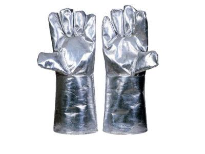 دستکش نسوز روکش دار آلومینیومی JLP 0501