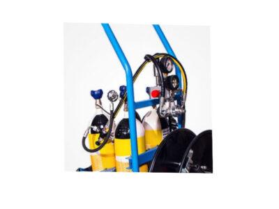 ست فشار شكن و متعلقات مربوطه سیستم تنفسی RC4603
